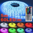 LED Strip Band Streifen 5m 60 LED/m RGB SMD-5050