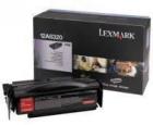 Original Lexmark Toner 12A8320 Schwarz