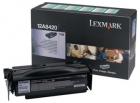 Original Lexmark Toner 12A8420 Schwarz