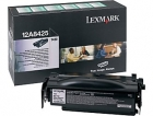 XL Original Lexmark Toner 12A8425 Schwarz