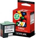 Original Lexmark Patronen 27 10NX227E Color