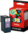 Original Lexmark Patronen 33 Color