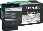 Original Lexmark Toner C540A1KG Schwarz