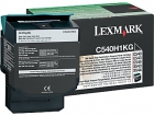 XL Original Lexmark Toner C540H1KG Schwarz