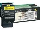 XL Original Lexmark Toner C540H1YG Gelb