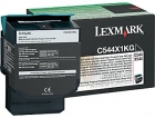 XL Original Lexmark Toner C544X1KG Schwarz