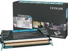 Original Lexmark Toner C734A1CG Cyan