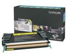 XL Original Lexmark Toner C736H1YG Gelb