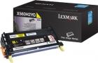 XL Original Lexmark Toner X560H2YG Gelb
