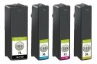 4x Alternativ Lexmark Druckerpatronen 100XL