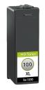 Alternativ Lexmark Patronen 100XL Schwarz