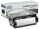 Alternativ Lexmark Toner 12A6865 Schwarz