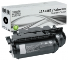 Set 2x Alternativ Lexmark Toner 12A7462 T630 Schwarz
