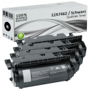 Set 4x Alternativ Lexmark Toner 12A7462 T630 Schwarz