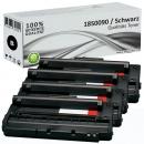 4x Alternativ Lexmark Toner 18S0090 Schwarz Set