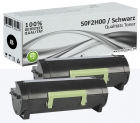 2x Alternativ Lexmark Toner 502H 50F2H00 Schwarz Set