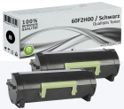 2x Alternativ Lexmark Toner 602H 60F2H00 Schwarz Set
