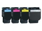 Alternativ TonerSet Lexmark C540H1KG C540H1CG C540H1MG C540H1YG
