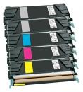 Alternativ Lexmark Toner C734A 5er Sparset