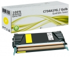 Alternativ Lexmark Toner C734A1YG Yellow/Gelb