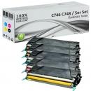 Alternativ Lexmark Toner C746 Mehrfarbig Set