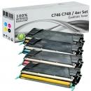 Alternativ Lexmark Toner C746 Set Mehrfarbig