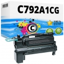 Alternativ Lexmark Toner C792A1CG Cyan