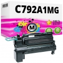Alternativ Lexmark Toner C792A1MG Magenta