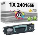 Alternativ Lexmark Toner 24016SE Schwarz