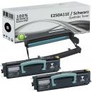 2x Alternativ Lexmark Toner E250 E250A11E + Trommel E250X22G