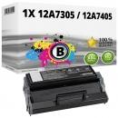 Alternativ Lexmark Toner 12A7305 / 12A7405 Schwarz