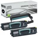 2x XL Alternativ Lexmark Toner E350 E352H21E + Trommel E250X22G