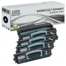 Set Alternativ Lexmark Toner 4x E450H11E + Trommel E250X22G