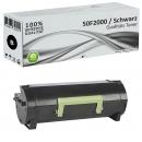 Alternativ Lexmark Toner 502 50F2000 Schwarz