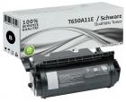 Alternativ Lexmark Toner T650A11E T650 Schwarz