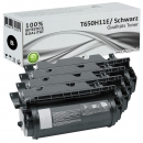 Set 4x Alternativ Lexmark Toner XL T650H11E T650 Schwarz