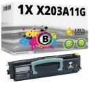 Alternativ Lexmark Toner X203A11G Schwarz