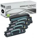 Set Alternativ Lexmark Toner 4x X203A11G + Trommel X203H22G