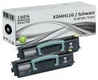 Set 2x Alternativ Lexmark Toner X264H11G Schwarz