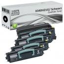 Set Alternativ Lexmark Toner 4x X340H21G + Trommel X340H22G
