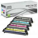 Alternativ Lexmark Toner X560 Set Mehrfarbig