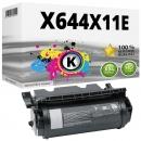 XXL Alternativ Lexmark Toner X644H11E Schwarz