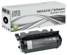 Alternativ Lexmark Toner X651A11E Schwarz