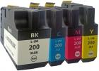 Alternativ Lexmark Druckerpatronen Set 210XL CMYK