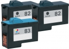 Alternativ Lexmark Patronen 2x 82 18L0032 +83 18LX042 Set