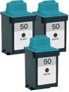 Alternativ Lexmark Patronen 3x 50 17G0050 Schwarz