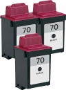 Alternativ Lexmark Patronen 3x 70 12AX970 Schwarz