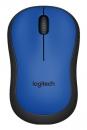 Logitech M220 Silent schnurlos Maus Blau