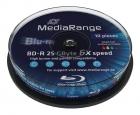 MediaRange BD-R 25 GB bedruckbar 10er Spindel