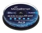 MediaRange BD-R 50 GB 10er Spindel